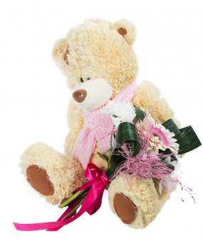Romantic teddy bear